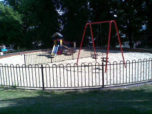 Fenced-Play-Area