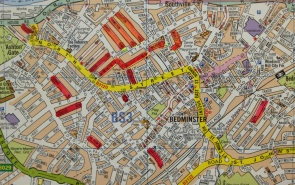 Map of Bristol play streets