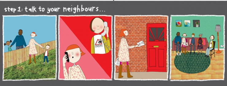 Step one: talk to your neighbours