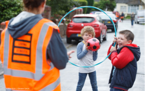 play street in Cardiff