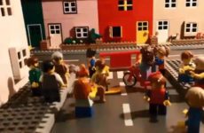 Lego film of play streets
