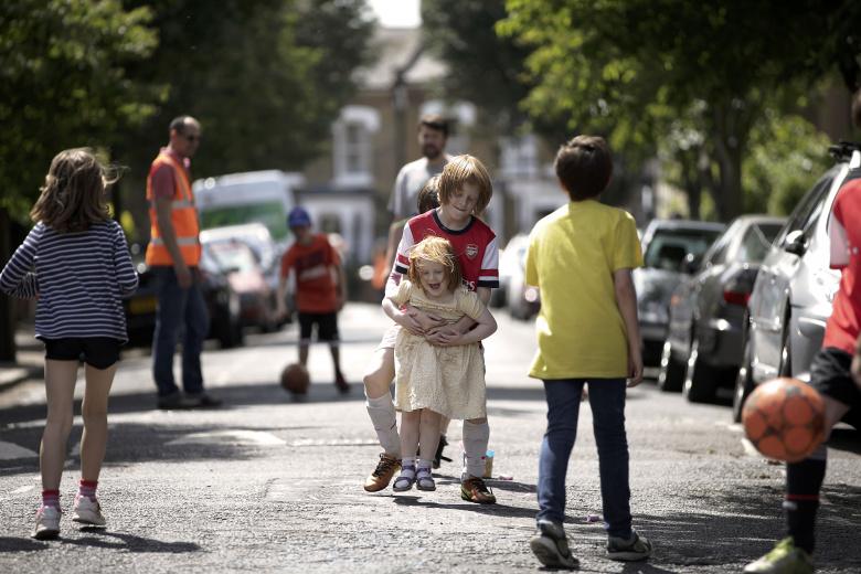 Play street in Hackney