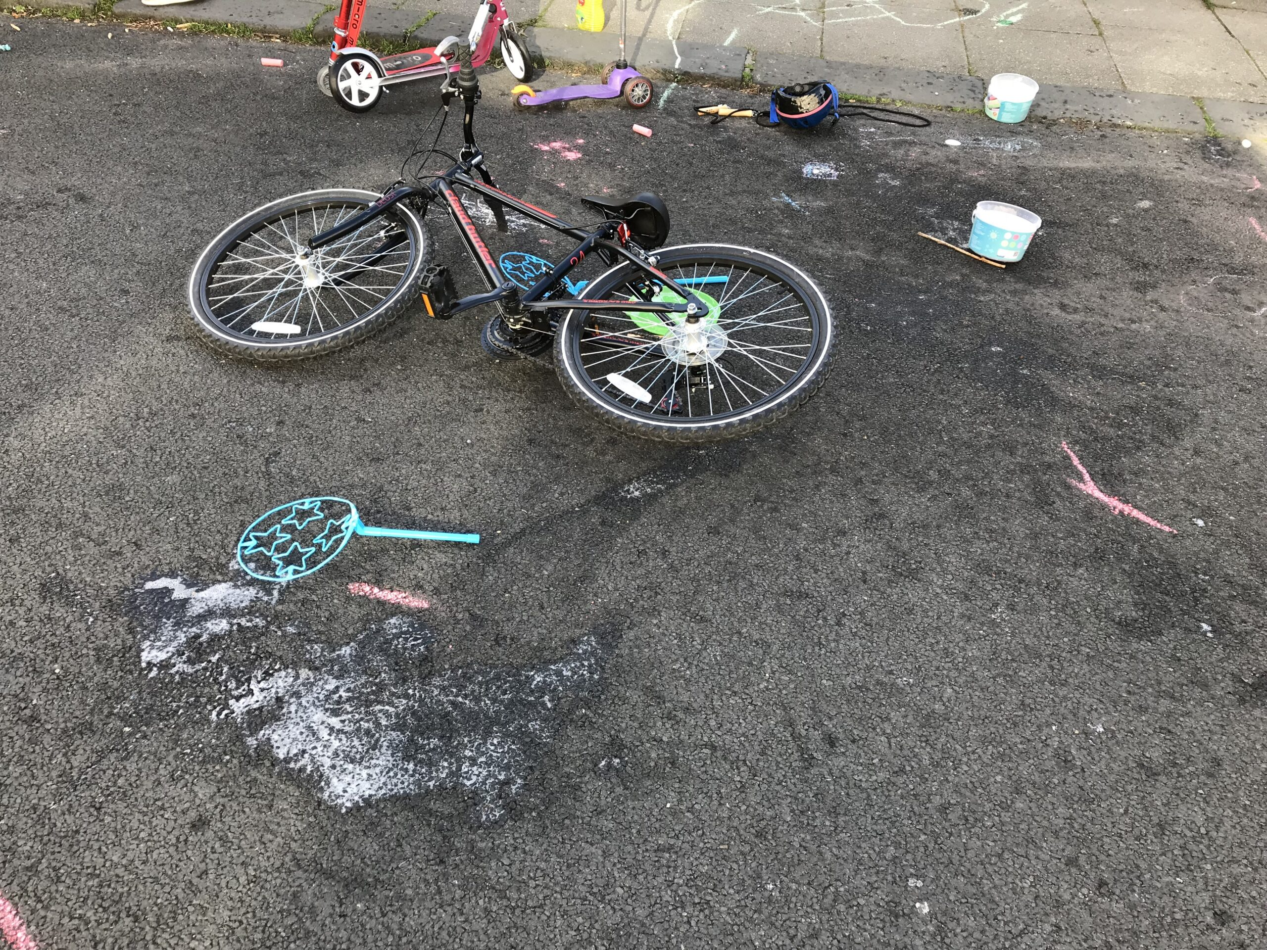 Playing Out Bicycles